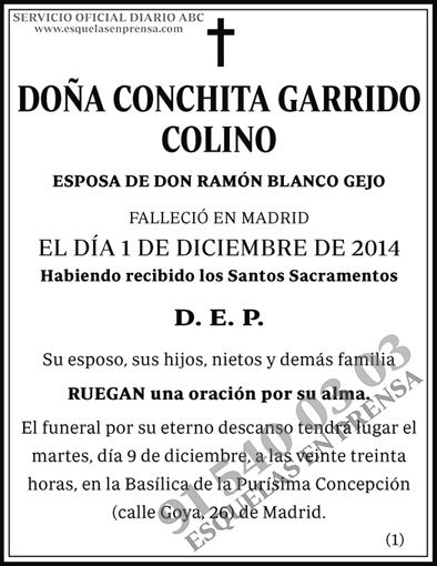 Conchita Garrido Colino
